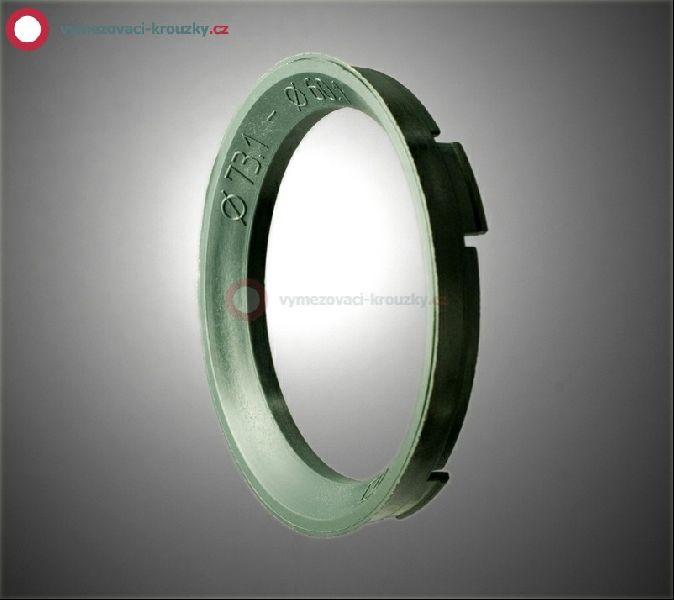 Vymezovací kroužek, vnitřní průměr 60.1 mm, vnější průměr 73.1 mm