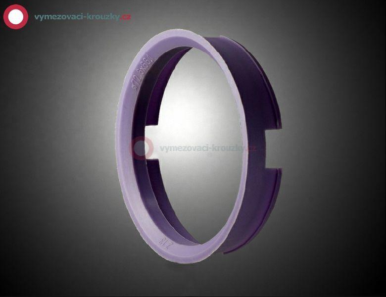 Vymezovací kroužek, vnitřní průměr 66.1 mm, vnější průměr 72.6 mm
