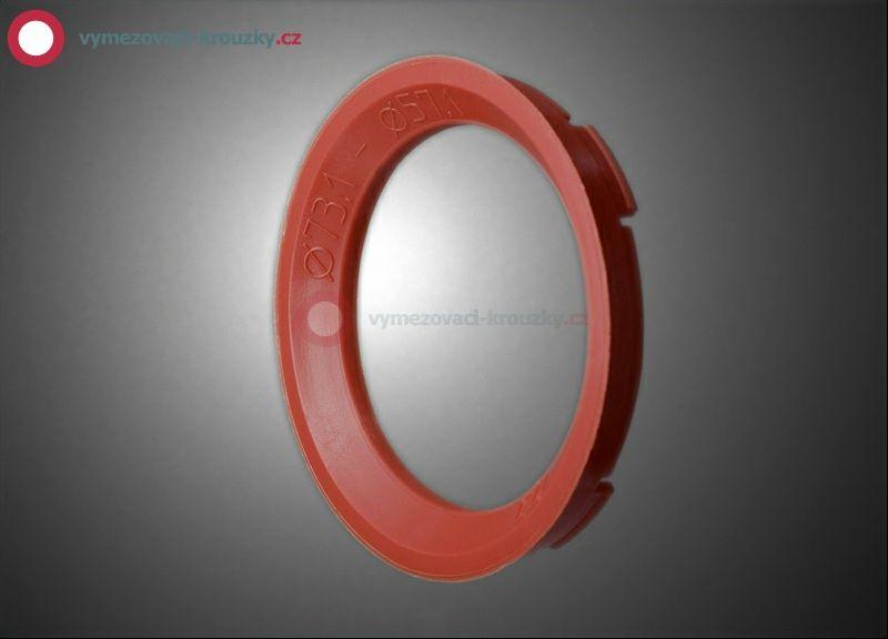 Vymezovací kroužek, vnitřní průměr 57.1 mm, vnější průměr 73.1 mm