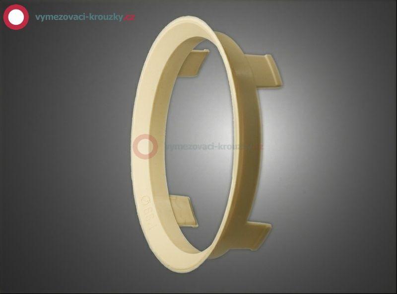 Vymezovací kroužek, vnitřní průměr 66.1 mm, vnější průměr 70.1 mm