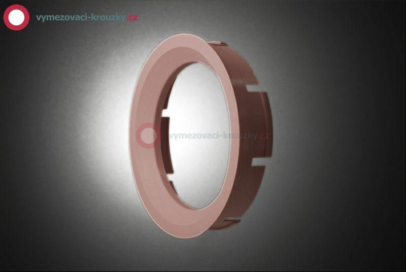Vymezovací kroužek, vnitřní průměr 57.1 mm, vnější průměr 72.6 mm