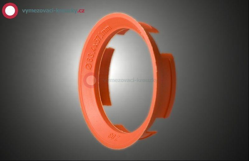 Vymezovací kroužek, vnitřní průměr 57.1 mm, vnější průměr 63.4 mm
