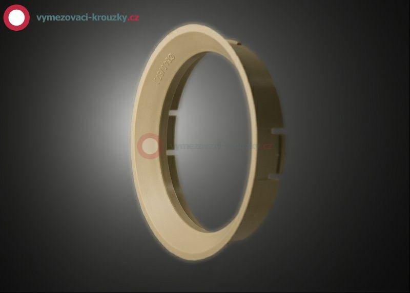 Vymezovací kroužek, vnitřní průměr 57.1 mm, vnější průměr 64 mm