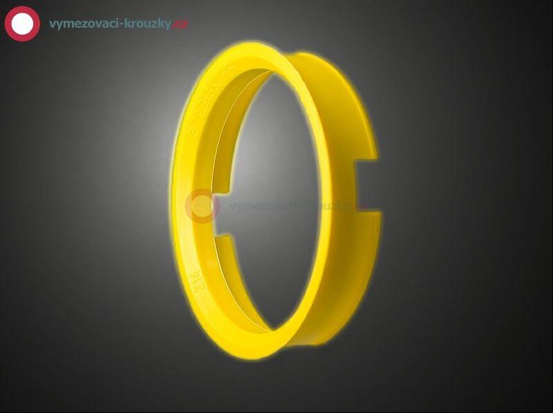 Vymezovací kroužek, vnitřní průměr 65.1 mm, vnější průměr 72.6 mm