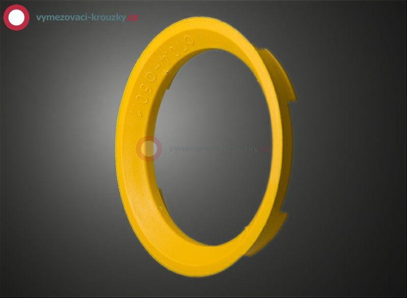 Vymezovací kroužek, vnitřní průměr 60.1 mm, vnější průměr 70.4 mm