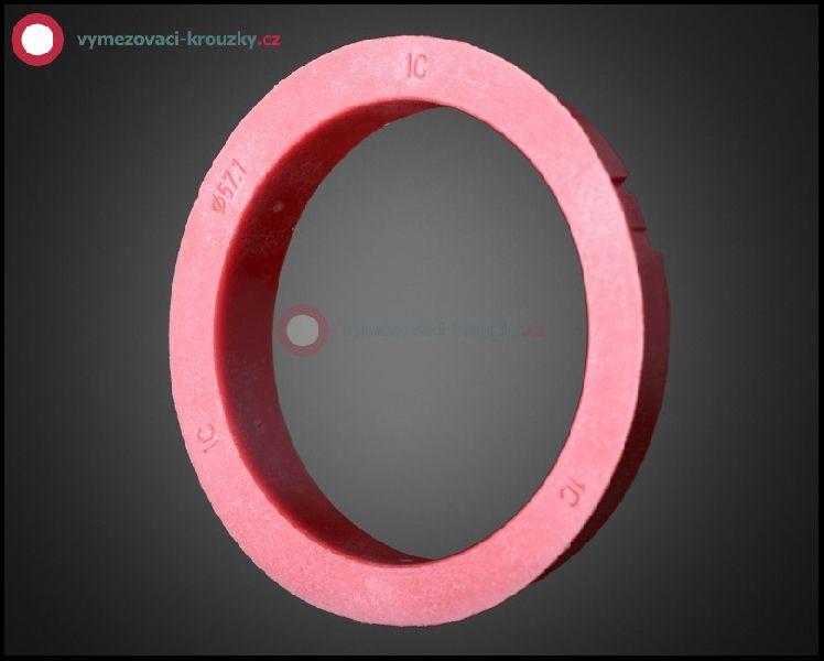 Vymezovací kroužek, vnitřní průměr 57.1 mm, vnější průměr 68 mm