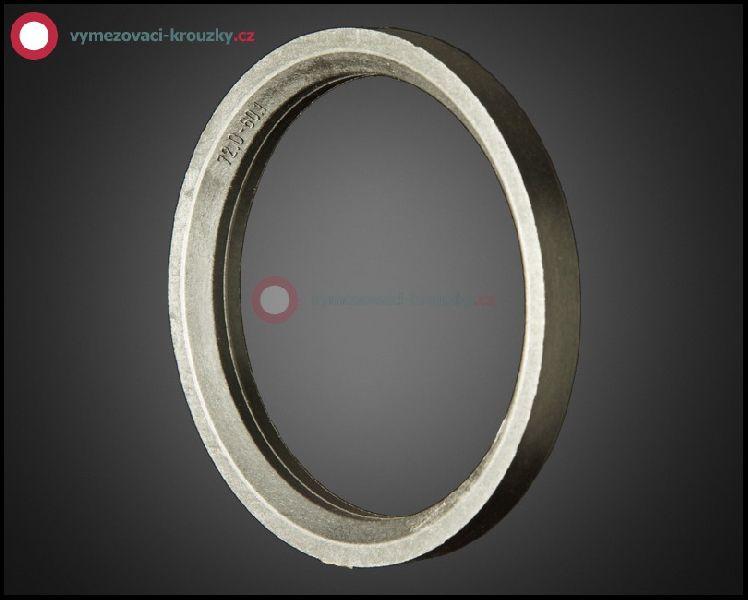Vymezovací kroužek, vnitřní průměr 60.1 mm, vnější průměr 72 mm