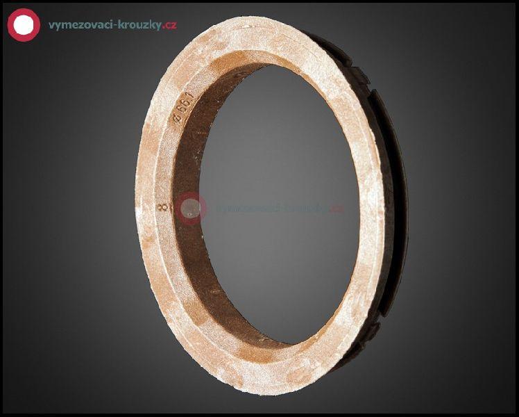 Vymezovací kroužek, vnitřní průměr 66.1 mm, vnější průměr 82 mm