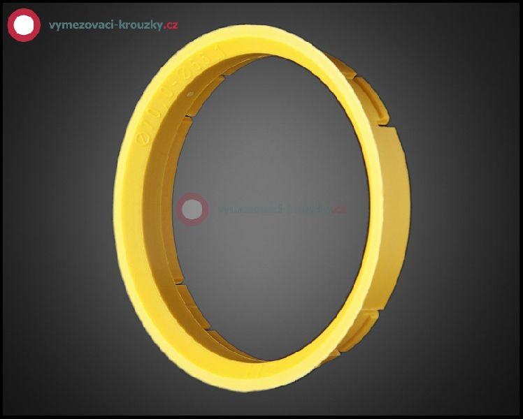 Vymezovací kroužek, vnitřní průměr 66.1 mm, vnější průměr 70 mm