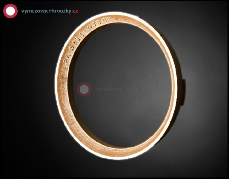 Vymezovací kroužek, vnitřní průměr 66.1 mm, vnější průměr 73.1 mm