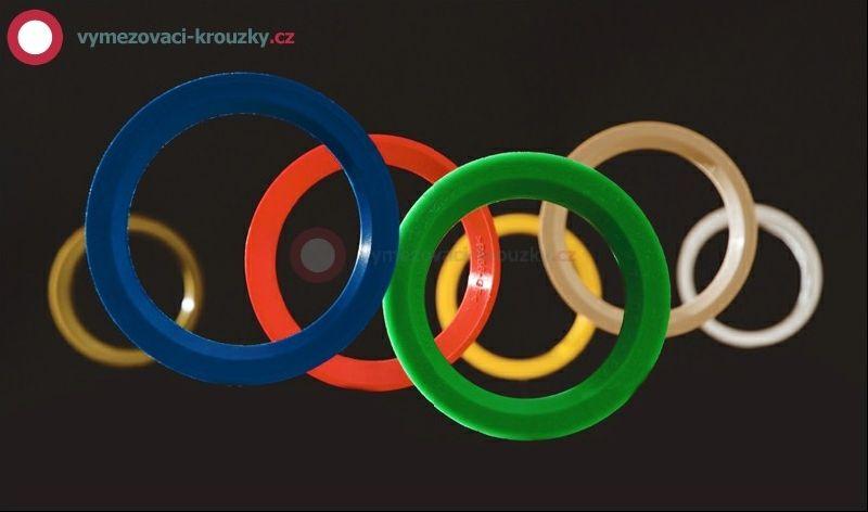 Vymezovací kroužek, vnitřní průměr 57.1 mm, vnější průměr 76 mm